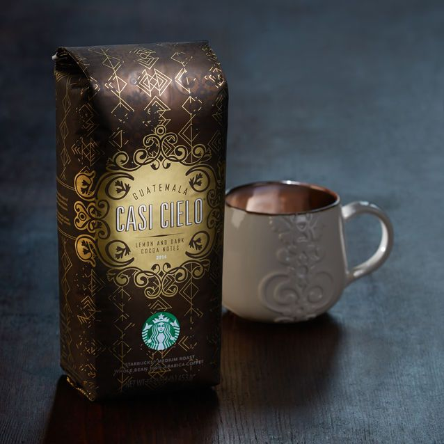 A Homage To Antigua A Cherished Blend Of Coffees With Rich And Complex Flavors And A Cocoa Finish Starbucks Starbucks Coupon Coffee Snobs