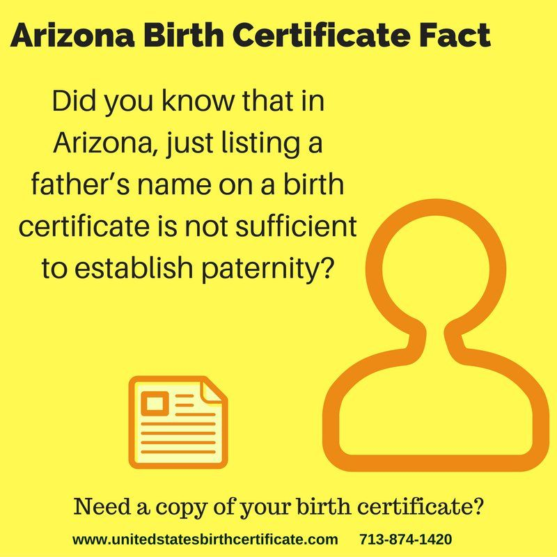 Misplaced Your Original Arizona Birth Certificate Visit Httpwww