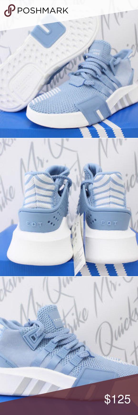 outlet store 0a46c 890bc WOMENS ADIDAS ORIGINALS EQT WOMENS ADIDAS ORIGINALS EQT BASKETBALL ADV SZ 7 ASH  BLUE CLOUD WHITE adidas Shoes Athletic Shoes