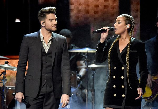 Leona Lewis Adam Lambert Honor Little Big Town At Cmt S Artist Of The Year Leona Lewis Adam Lambert Little Big Town