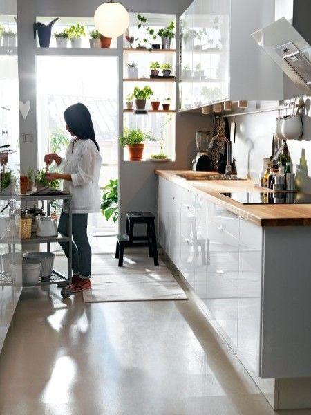 Smart einrichten 17 clevere Lösungen für die Mini-Küche Pinterest - cleveres kuchen design