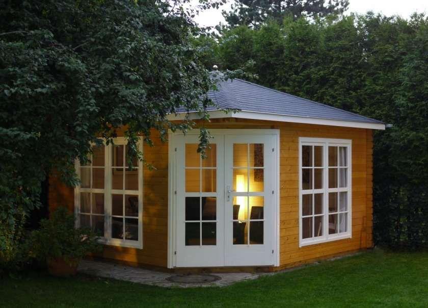5Eck Gartenlaube Maik40 Outdoor structures, Garden