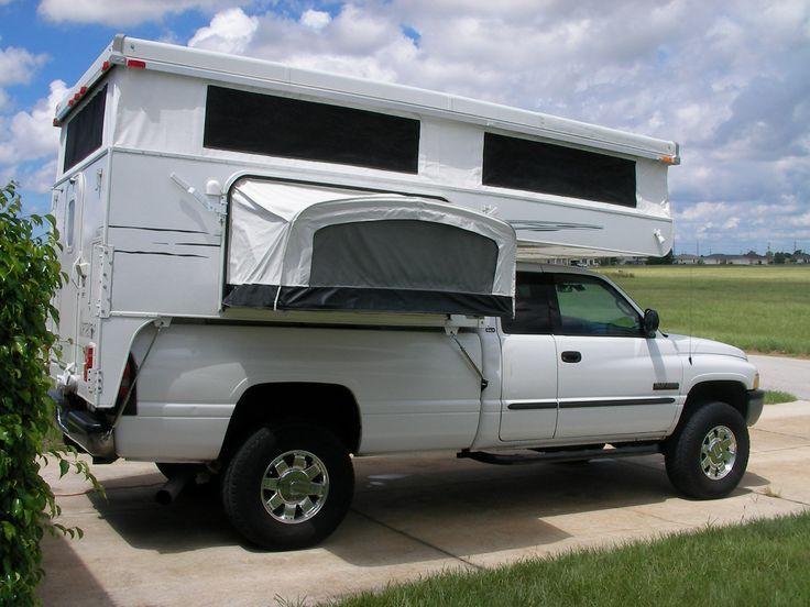 Pop Up Camper Shells For Pickup Trucks 41 RVtruckCAR in