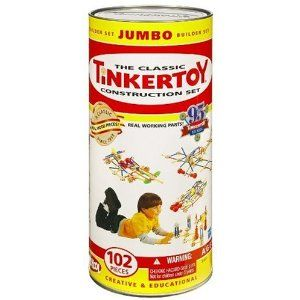 No Batteries Required Tinker Toys A Classic That Develops Many