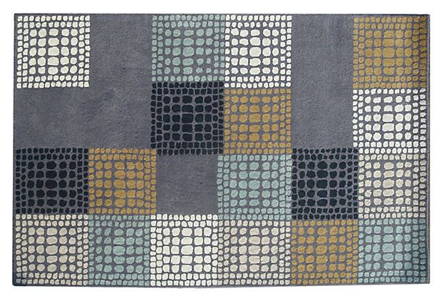 Bleeker Rug, Gray/Multi == also a great pattern