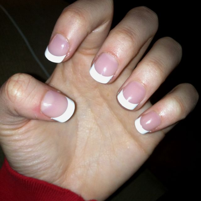 Kiss press on nails from rite aid! Saves you a trip to the nail ...