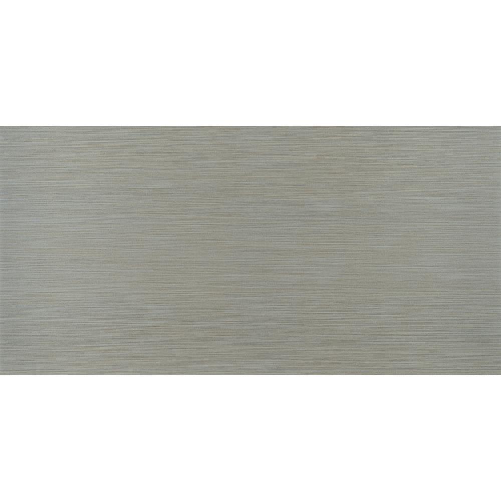 Msi Metro Glacier 12 In X 24 In Glazed Porcelain Floor And Wall Tile 2 Sq Ft Nhdmetgla1224 The Ho In 2020 Porcelain Flooring Floor And Wall Tile Wall Tiles