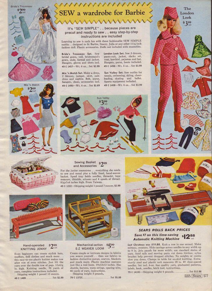 1969 Sears Christmas Catalog Page0577 | fashion doll