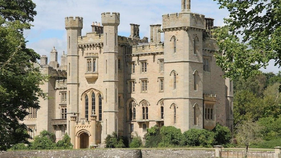 """It's a real-life fairytale-- a vacation rental company will treat one lucky winner to be their guest in a scenic 14th-century Scottish castle this summer in honor of Disney's premiere of its live-action remake of """"Beauty and the Beast.""""HomeAway, which conn"""