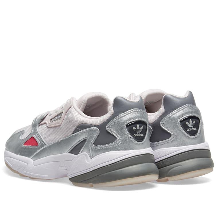 buy online 2b5c5 23545 Adidas Falcon W Orchid Tint  Metallic Silver 3
