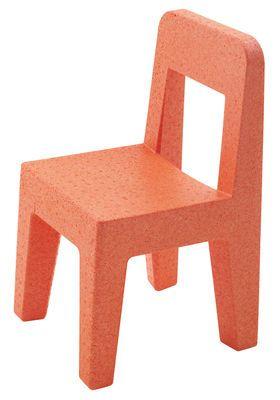 Chaise Enfant Seggiolina Pop Orange Magis Collection Me Too Chaise Enfant Mobilier Enfant Jardin Pour Enfants