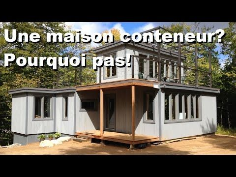 mini maison conteneur tiny house chalet et autres. Black Bedroom Furniture Sets. Home Design Ideas
