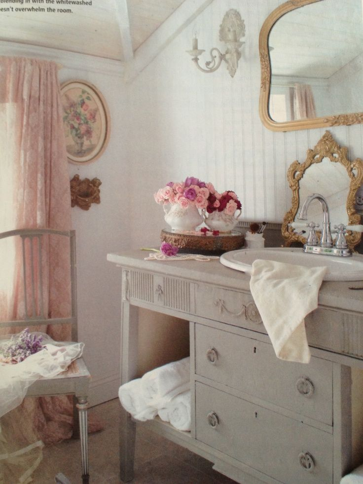 Pink Bathroom Cabinets
