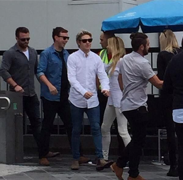 Niall in Melbourne today