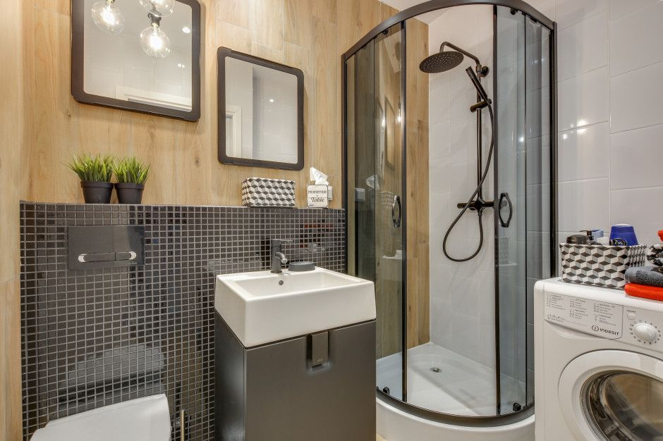 Modna Kuchnia Urzadz Ja W Stylu Loft Home Appliances Bathroom Home Decor