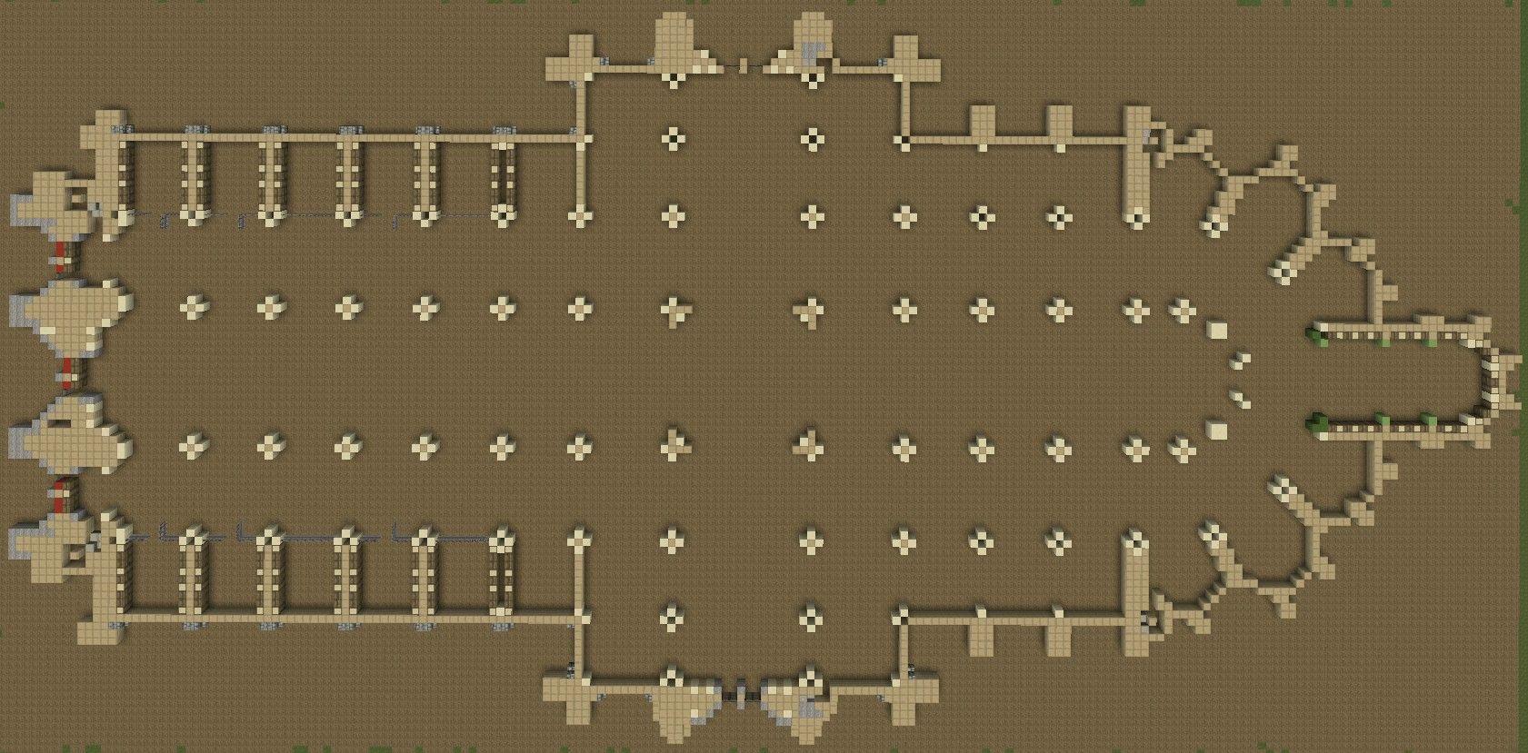 Medieval castle blueprints minecraft for Chateau blueprints