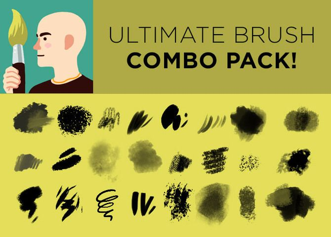 Kyle's Bamboo Stick Brush for Photoshop | Tools for Art