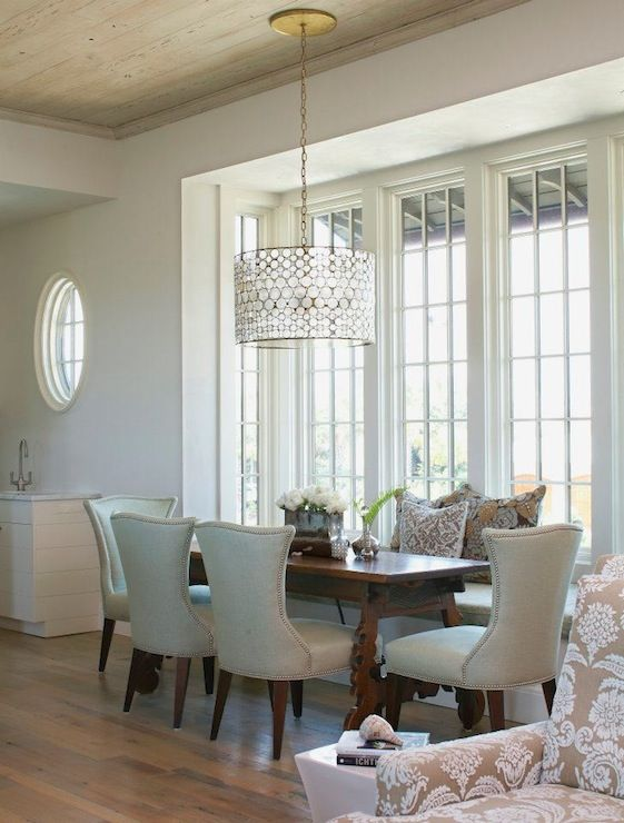 Elegant Dining Room Chandeliers Inspiration Suzie Tracery Interiors  Chic Elegant Dining Room With Builtin Decorating Inspiration
