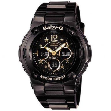 Casio Baby-G Female Watch BGA-113B-1B BGA-113-1BDR