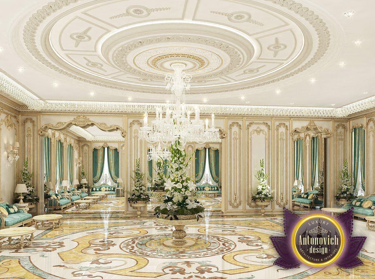 Luxury antonovich design majlis interiors from katrina for Dubai decoration interieur
