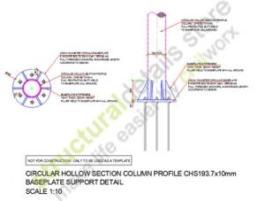 Steel Circular Hollow Section Column Profile ( CHS