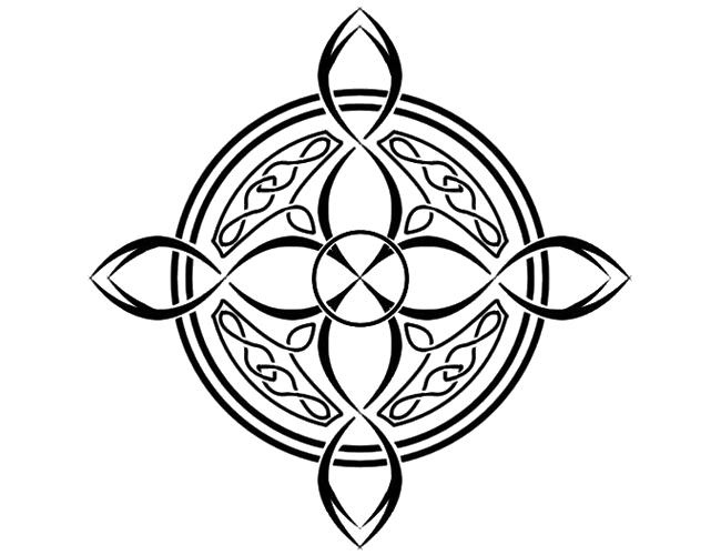 Cross Tattoo Transparent: Celtic Knot Tattoos PNG Transparent Images