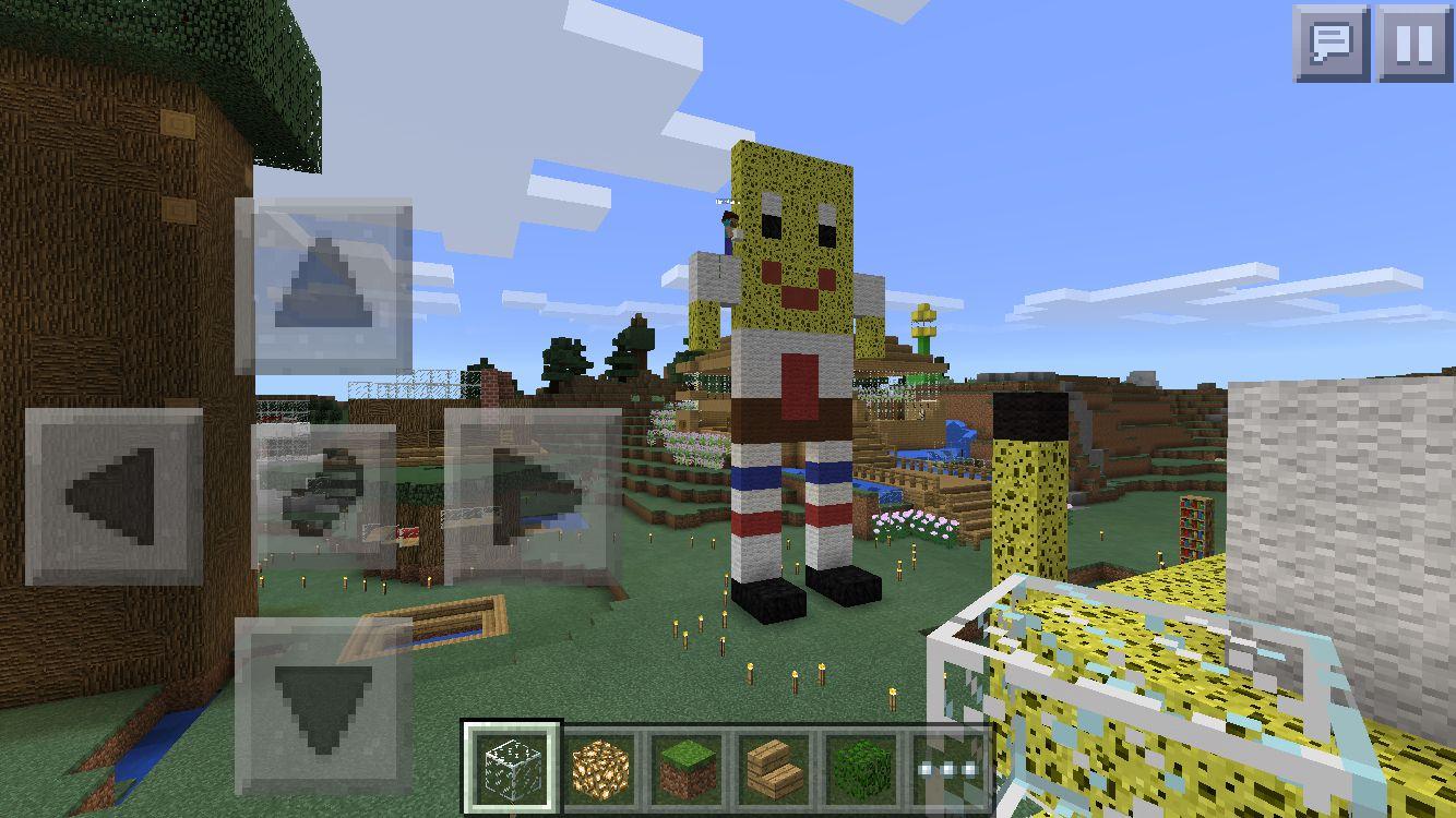 SpongeBob minecraft   Minecraft   Pinterest