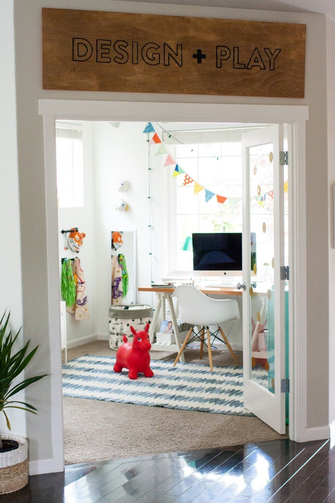 Office Playroom Ideas Honest To Nod Office Playroom Kids Playroom Decor Home Office Decor