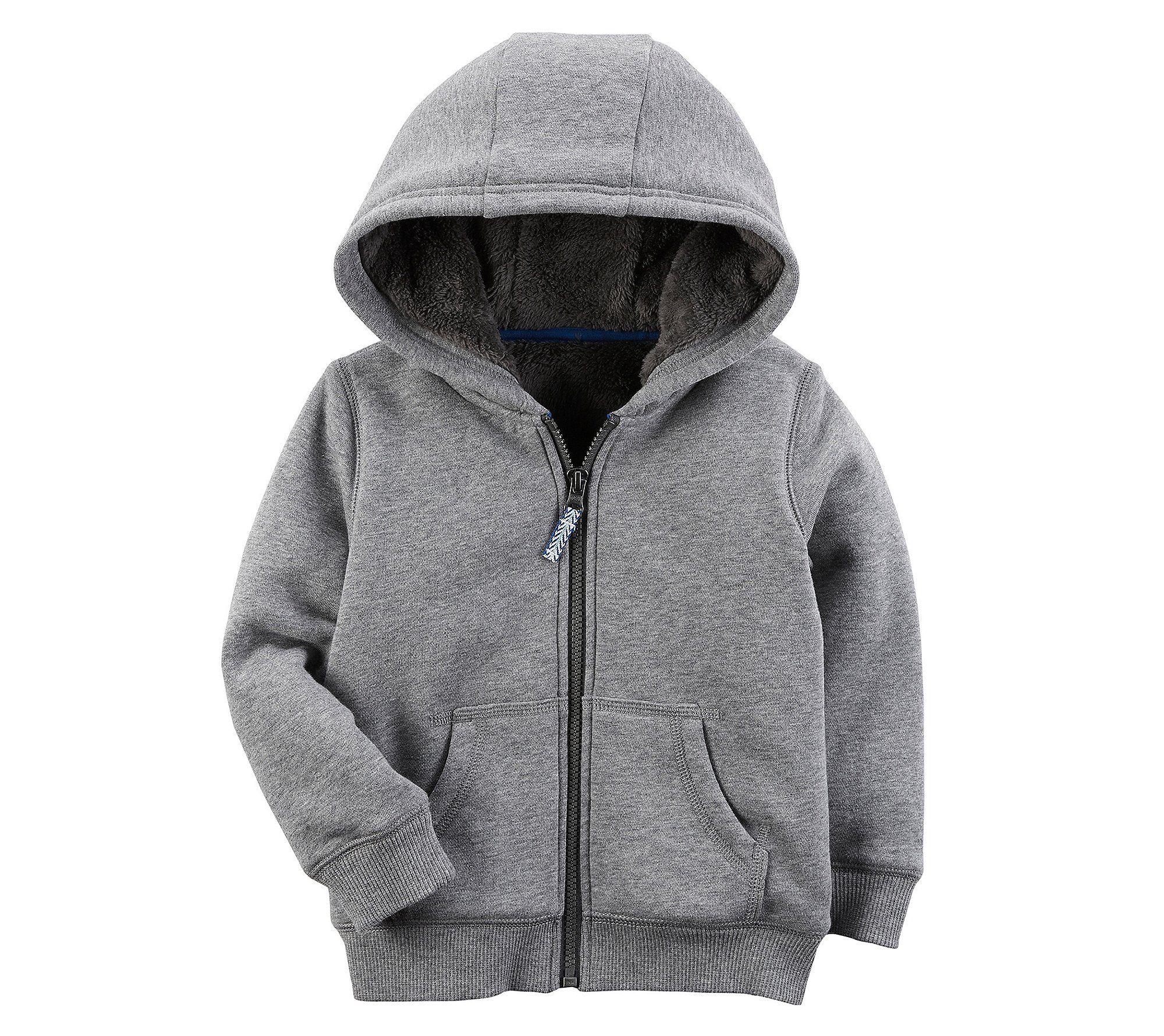Boys Hoodie Hooded Cotton Zip Up Jackets Long Sleeve Sweatshirt Coat Jacket 4-8 Years