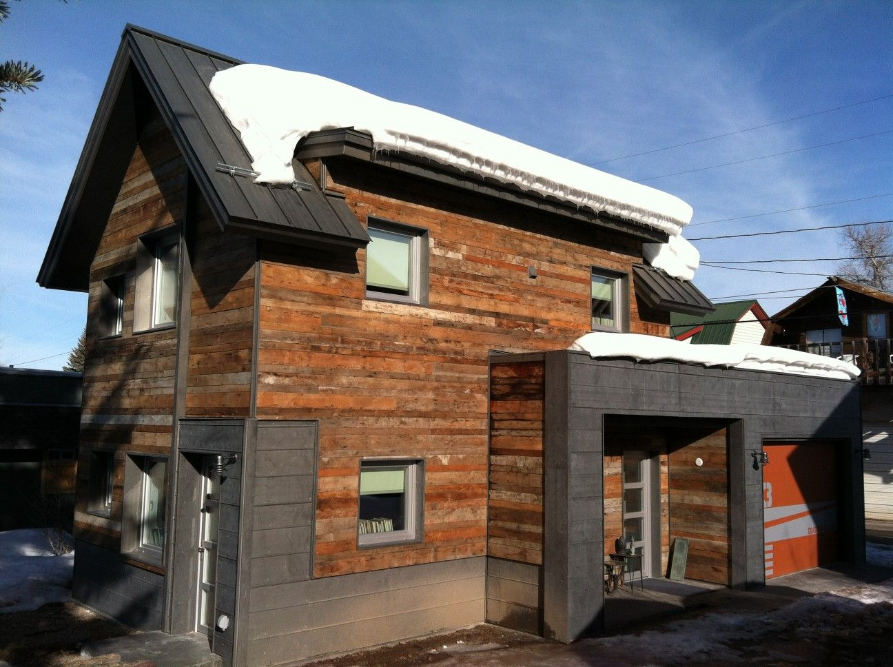 The Diagon Alley Passive House Combines Modern Design And