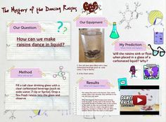 Better dancing raisins experiment worksheet ideas