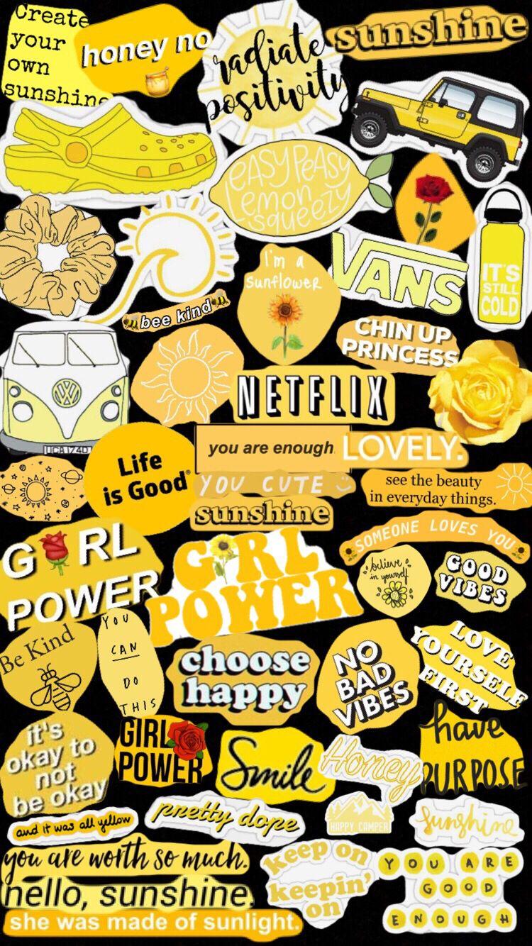 Vsco Cambreyjohnson Iphone Wallpaper Yellow Yellow Aesthetic Pastel Yellow Aesthetic