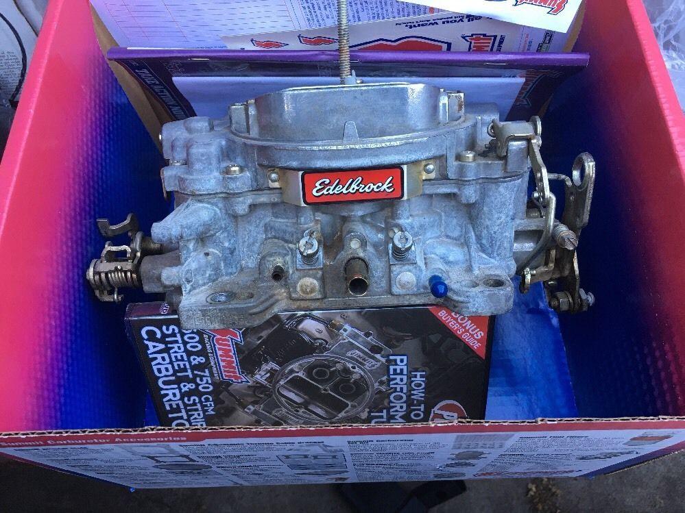 edelbrock 1405 600 cfm manual choke performance series carburetor rh pinterest com Car Alarm Product Manuals Product Auto Repair Manuals