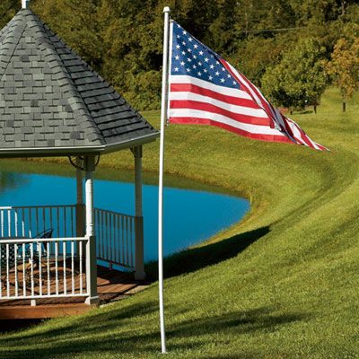 American Flag With 10 Ft Pole Sporty S Tool Shop Pictures Of America Camping Decorating Ideas Pvc Flag Pole