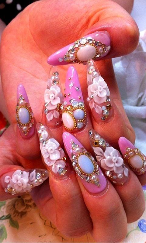 Junk Nail Art Designs Images - nail art and nail design