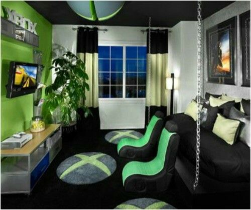 Small Bedroom Ideas For Young Man: 21 Truly Awesome Video Game Room Ideas