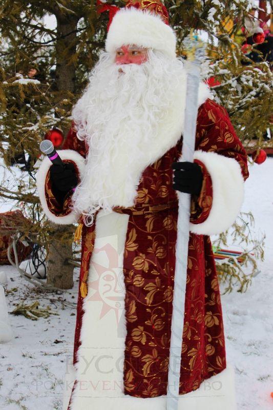 Настоящий Русский Дед Мороз Grandparent Frost
