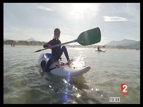 wave-ski à Hendaye avec yakanoe.com