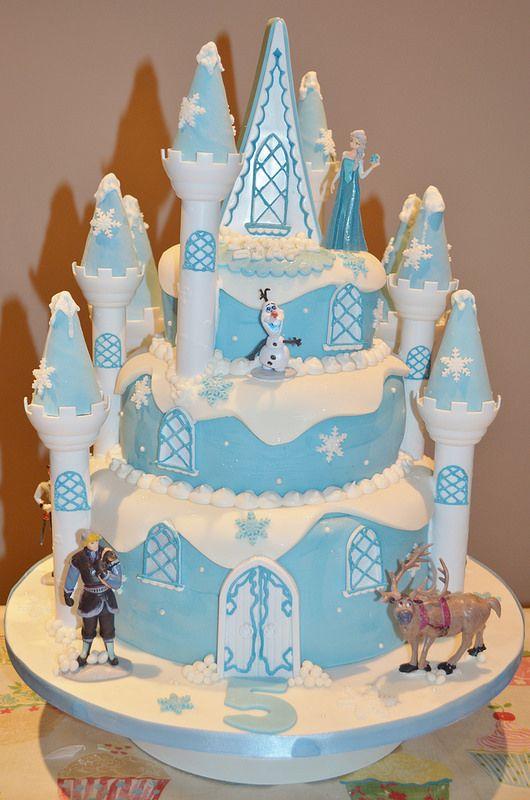 Fantastic Frozen Castle Cake Sweet Birthday Cake Frozen Castle Cake Funny Birthday Cards Online Aeocydamsfinfo