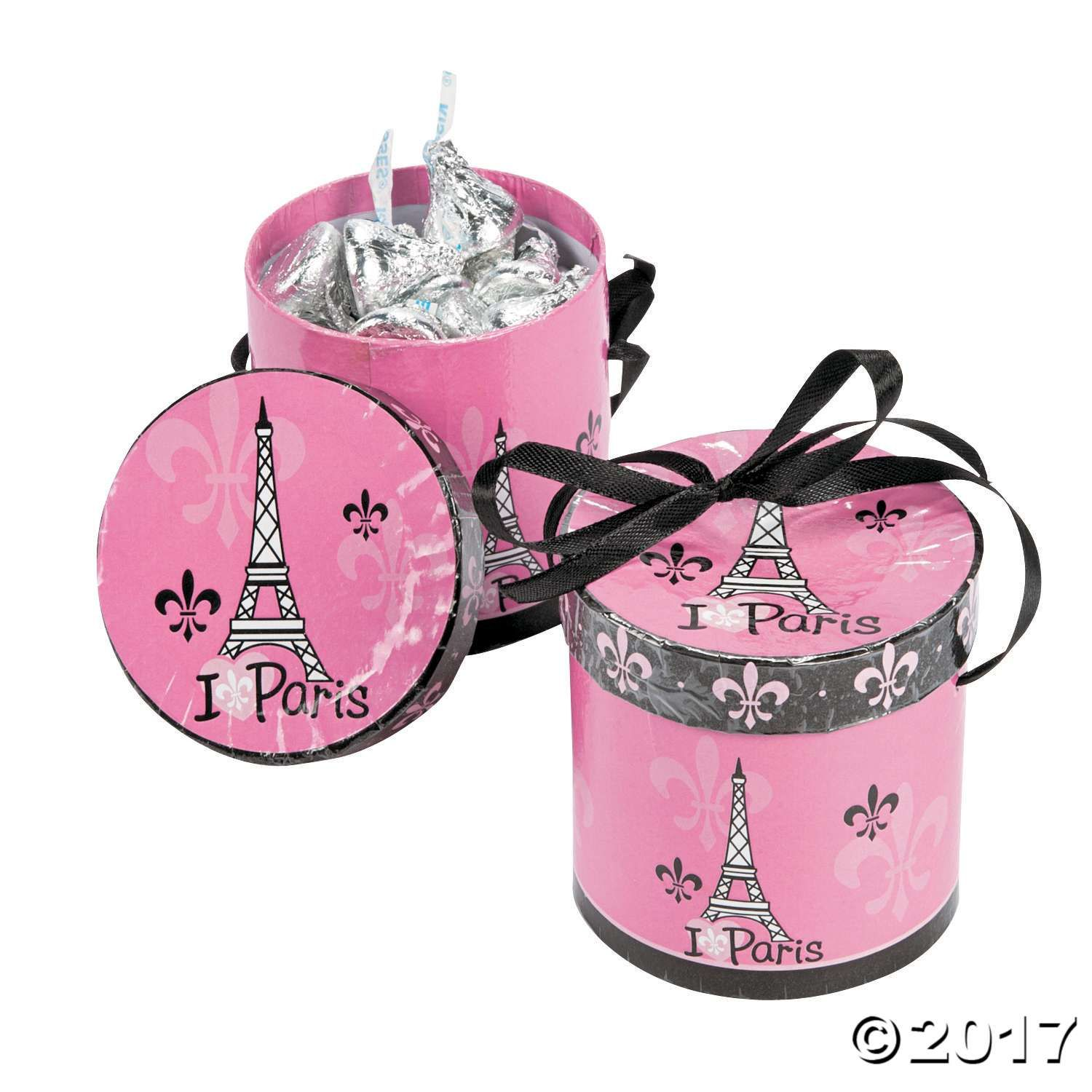 cf10fece3ae105 Perfectly Paris Hat Favor Boxes in 2018