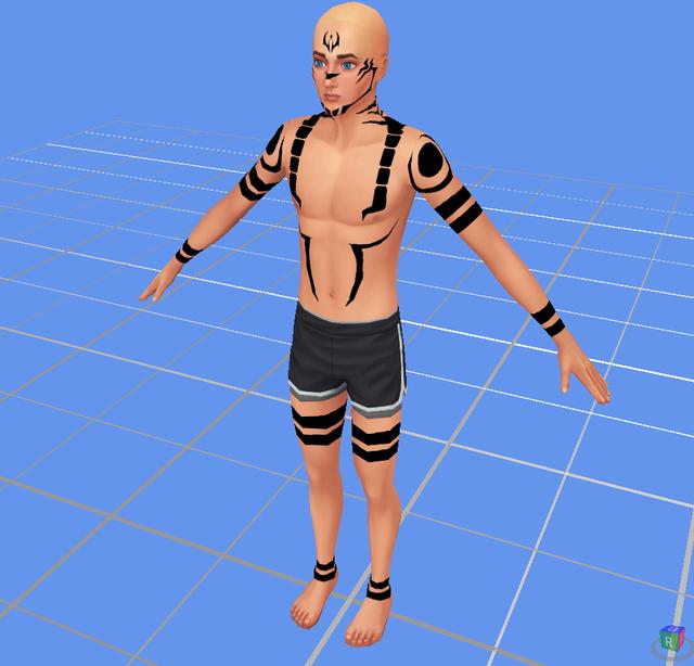 Sukuna Jujutsu Tattoo Sims 4 Studio In 2021 Sims 4 Sims 4 Tattoos Sims 4 Studio