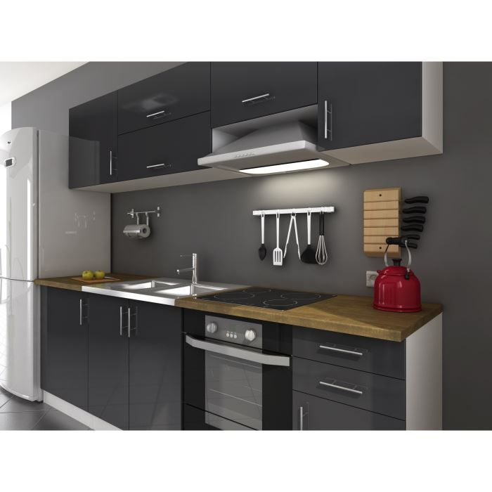 Arty Cuisine Laque Gris Kitchen Pantry Dining Kitchen