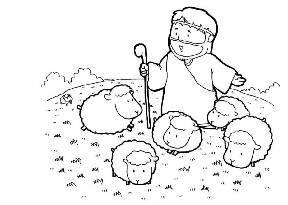 Bible Coloring Pages And Activities