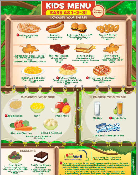Kids Menu Template | Stationary Templates | Pinterest | Kids menu ...