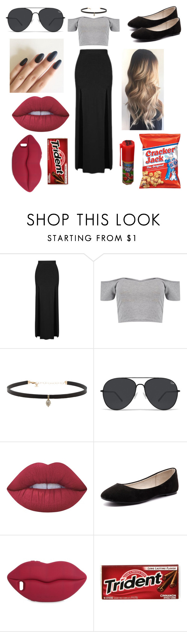 """Untitled #190"" by april262005-paris ❤ liked on Polyvore featuring Topshop, Boohoo, Carbon & Hyde, Lime Crime, Verali and STELLA McCARTNEY"