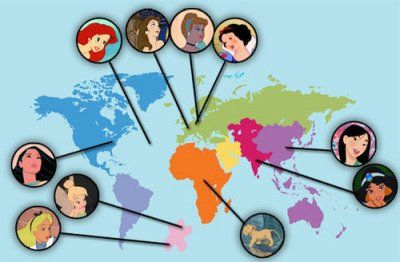 map of the princesses!