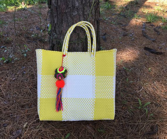 Oaxaca Tote Bag Handmade Mexican Getaways Travel Basket