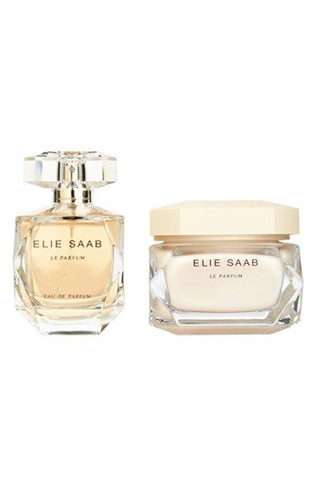 Feminine Honey and woodsy -- Elie Saab 'Le Parfum' Eau de Parfum Deluxe Holiday Set (Limited Edition) available at #Nordstrom