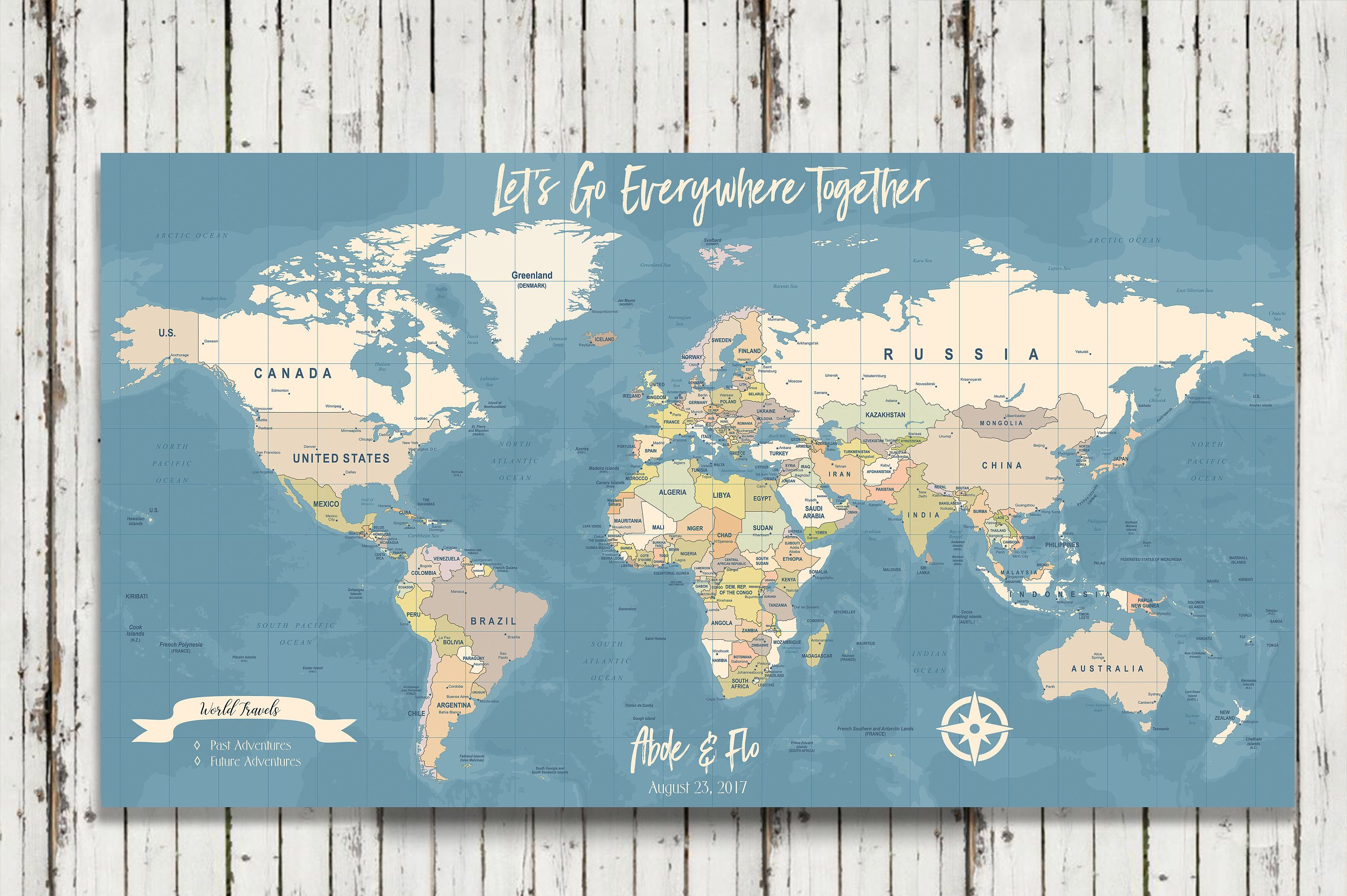 World travel map map your travels canvas pushpin map husband gift world travel map map your travels canvas pushpin map husband gift our travels map personalized travel map personalized push pin map gumiabroncs Image collections