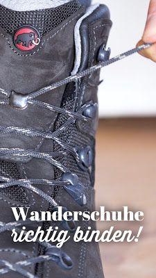 Photo of Schnür-Tutorial | Wanderschuhe richtig binden